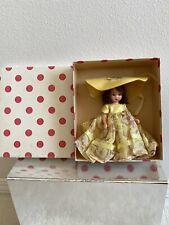 "Vintage Nancy Ann Storybook Plastic Jointed Doll - #163 ""Little Miss Donnet Box"
