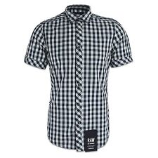G-Star Collared Short Sleeve Cotton Men's Casual Shirts & Tops