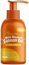Zesty Paws Pure Wild Alaskan Salmon Oil for Dogs & Cats - Supports Joint Functio