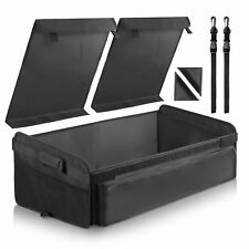 Auto Products Car Cargo Trunk Organizer, Folding Compartments