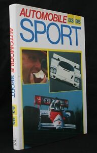 Automobile Sport 83 85 Motorsport Hardback Annual