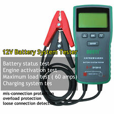 DY2015 12V Digital Automotive Car Battery Load Tester Analyzer CCA