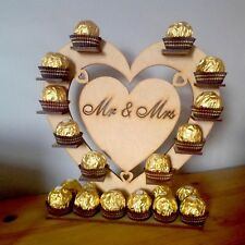 Chocolate Display Stand Wedding  Mr & Mrs Ferraro Rocher