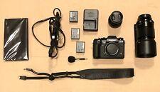 Fujifilm X-T3 26.1MP Digital Camera - Black Body & XF90MM F2 & XF 35mm F2 R WR