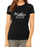 BC Mother Hustler Shirt Mommy T-Shirt Gift for Christmas New Mom Tee Boss Lady