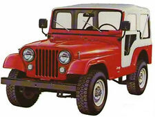 Bestop 1976 - 1983 Jeep CJ-5 WHITE Denim Replacement Soft Top 51117-52 Heritage