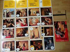 Aushangfotos * 20 AHF + Kleinplakat + Umschlag * Der Todesrächer von Soho *1972