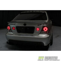 For Smoked 2001-2005 Lexus IS300 LED Tail Lights Brake Lamps Left+Right