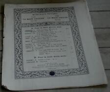 Etude de Concert, Barcarolle du Marinq Faliero Op.6, Andreoli OLD SHEET MUSIC
