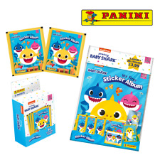 More details for panini - baby shark my first sticker collection - packs, starter pack, multiset