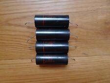 4 x Sprague paper in oil .47 uf 600v Capacitors 161P Pio Tested Good