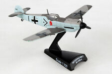 PS5336-5 POSTAGE STAMP BF109 ADOLF GALLAND 1/100 SCALE DIE-CAST MODEL AIRPLANE
