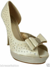 Unbranded Satin Bridal or Wedding Heels for Women