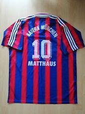 Matthaus #10 Bayern Munchen Vintage Football Jersey XL Trikot 1996 1997 RARE Old