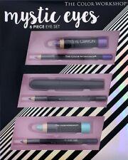 Mystic Eyes 6 Piece Set,The Color Workshop,2 Eye Crayon,3 Eye Pencil,1 Mascara