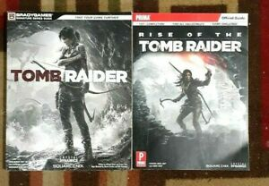 Tomb Raider & Rise Of The Tomb RaiderBradygames Strategy Guides + Free Eguide