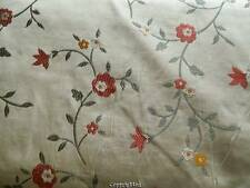 """Embroidered silk fabric 7.5 yards 54"""" wide"""
