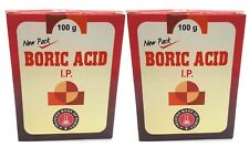 2 x BORIC ACID Powder Roach Pest Insect Control Bug Killer 100g Combo Offer---
