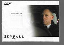 James Bond Autographs & Relics Costume Card SSC14 Daniel Craig 007 SHIRT 145/200