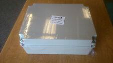 PLASTIC-ENCLOSURE-JUNCTION-BOX-ADAPTABLE-PVC-IP56 300 x 220 x 120mm