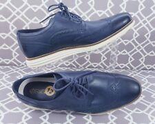 Cole Haan Mens 12M Original Grand Shortwing Oxfords Dress Shoes Blue Navy C30563