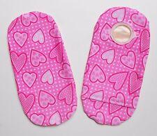 Pink Hearts! Ostomy Ileostomy Colostomy Urostomy Catheter Bag Pouch Cover