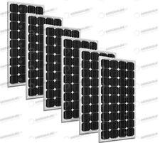 Set 6 x Pannelli Solari Fotovoltaico 300W Europeo 24V tot. 1800W Casa Baita Stan