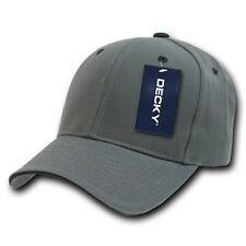 Charcoal Gray & Black Sandwich Visor Bill Blank Baseball Ball Cap Hat Caps Hats
