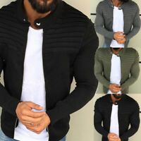 Men's Winter Slim Casual Warm Hooded Sweatshirt Coat Jacket Outwear Sweater Hot