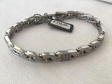 Brosway Collezione flat chain 2007 bracciale acciaio con 11 pietre naturali FC01