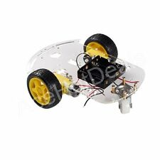 2WD Motor Smart Robot Car Chassis Kit Speed Encoder Battery Box for Arduino