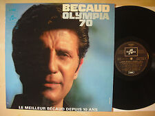 Gilbert BECAUD-Olympia 70-vinyl, France 70, M -