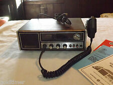 VINTAGE 1970-80S GE 40 CH CB CITIZENS BAND TRANSCEIVER  BASE RADIO MODEL 3-5871B