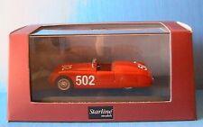 CISITALIA 202 SPYDER #502 MILLE MIGLIA 1947 STARLINE SL518239 1/43 ROSSO ROUGE