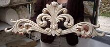 Fronton applique Vandôme dessus de porte 82 cms baroque