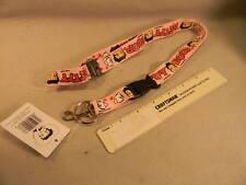 Betty Boop  PINK LANYARD CHAIN  brand new  KEEP UR KEYS CLOSE WITH BETTYS HELP