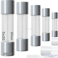 Feinsicherungen 5 x 20mm 250V T M F Glas sicherung SIBA ESKA Püschel Freie Wahl