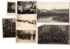 Pre 1940 Lot of 12 Vintage Antique Military Army Soldier Photos Estonia Estonian