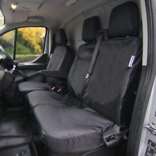 More details for ford transit van waterproof seat covers - tailored front 3 seat set