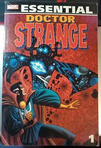 ESSENTIAL DOCTOR STRANGE #1 one volume vol. v. Marvel TPB graphic novel comics