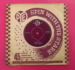 "E59, Lively!, Lonnie Donegan, 7"" 45rpm Single, Excellent Condition"