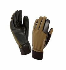 SealSkinz 100% Waterproof Glove - Windproof & Breathable, leather trigger fin...