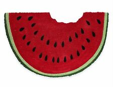 "Watermelon 18""x28"" Welcome Sand Door Mat Rug Outdoor Indoor Coir NEW"
