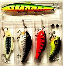 Rare Vintage Vortex Electronic Fishing Lure Kit - 5 Fabulous Lures in One Kit!