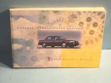 93 1993 Oldsmobile Cutlass Ciera/Cutlass Cruiser owners manual