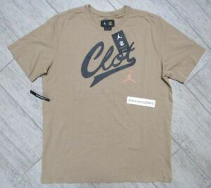 NWT Jordan x CLOT Shirt Sz XL - Men's 100% Authentic AV6260 202