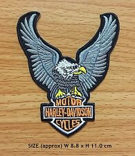 HARLEY DAVIDSON MOTORSPORT RACING Embroidered Sew Iron On Patch Collectible Gift