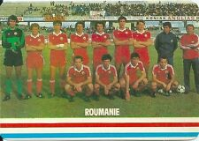 Carte Football ROUMANIE Futebol soccer sport trading card