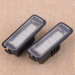 Fit For Seat Altea Exeo ST Ibiza Leon 2pcs 18-LEDs License Number Plate Light ht