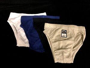 3 x Cotton Fiber Men Mens Underwear Undies Underpants Man Brief Briefs New
